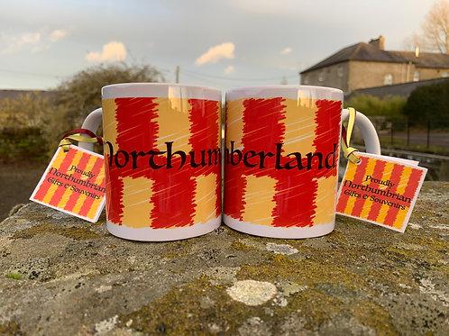 Proudly Northumbrian 'Fly the Flag'  Mug
