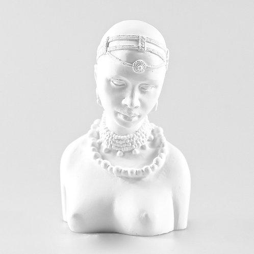 Agnes Plaster Head by Powertex