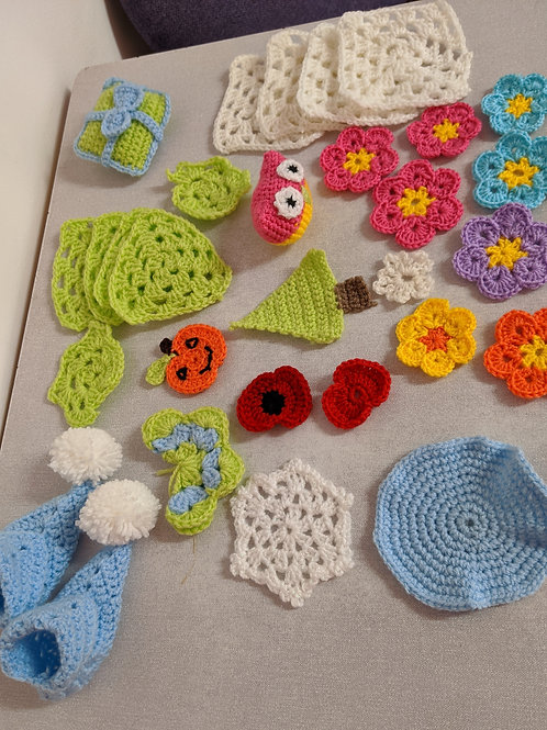 Crochet For Beginners - Afternoon  Class Friday 16th July 2021