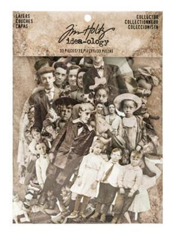Tim Holtz Paper Dolls - 107 piece pack