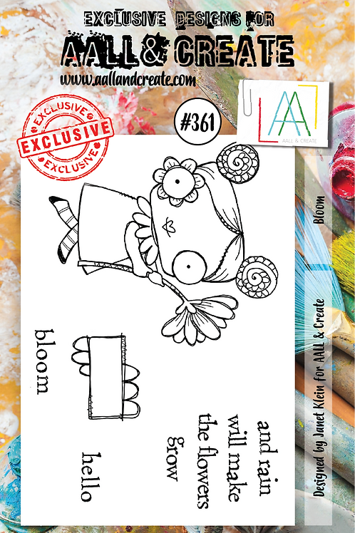 AALL and Create A7 Stamp Set #361 - Bloom