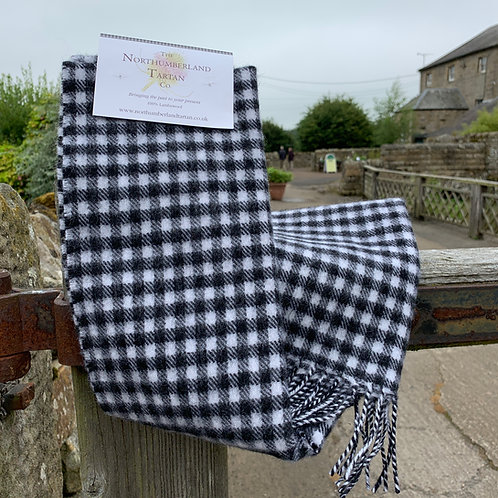 Lambswool scarf from The Northumbrian Tartan Co
