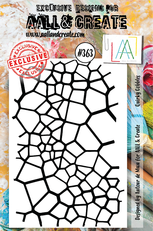 AALL and Create A7 Stamp Set #363 - Quirky Cobbles