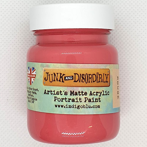 IndigoBlu Junk and Disorderly - Acrylic Paint - Rouge (Matte - 60