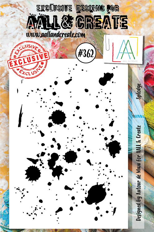 AALL and Create A7 Stamp Set #362 - Slodge