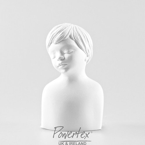 Jonas Plaster Head by Powertex