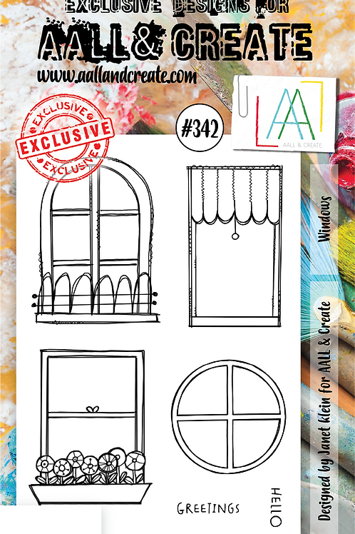 AALL and Create Stamp Set #342 - Windows