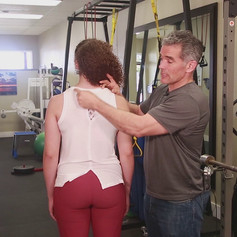 Muscles in the upper body to Loosen
