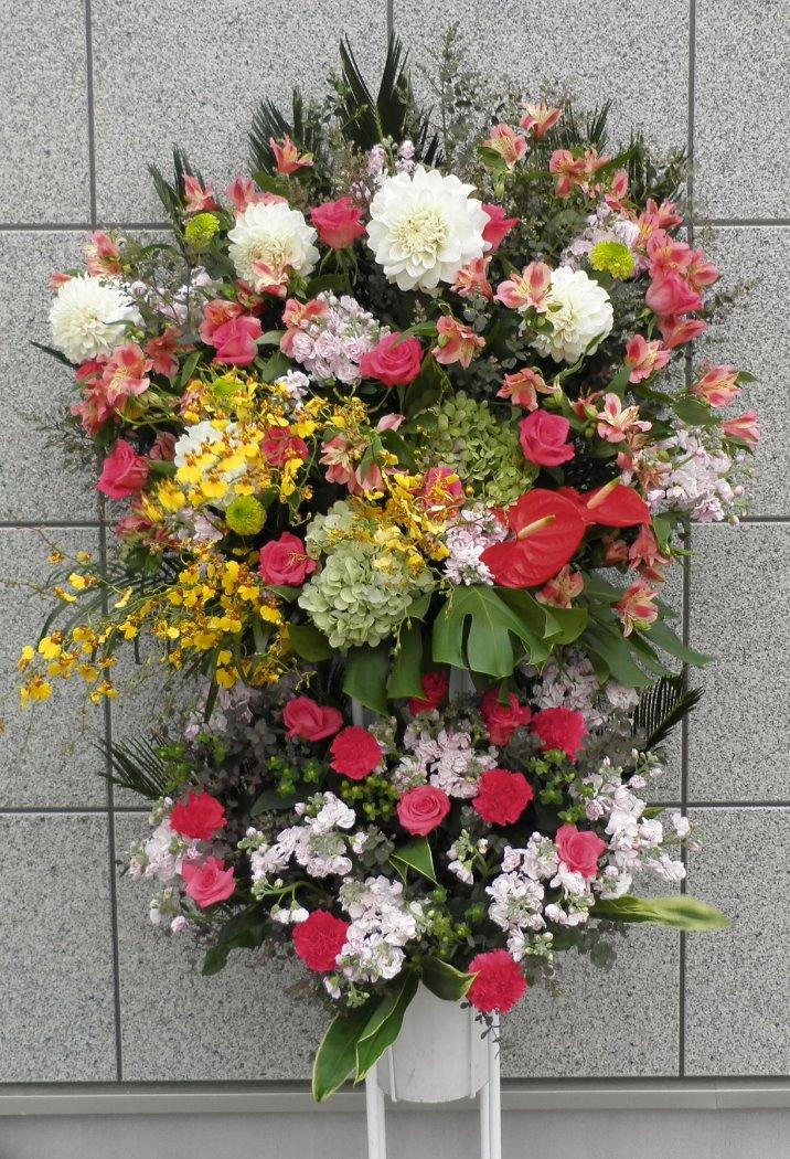 お祝い生花スタンド2段