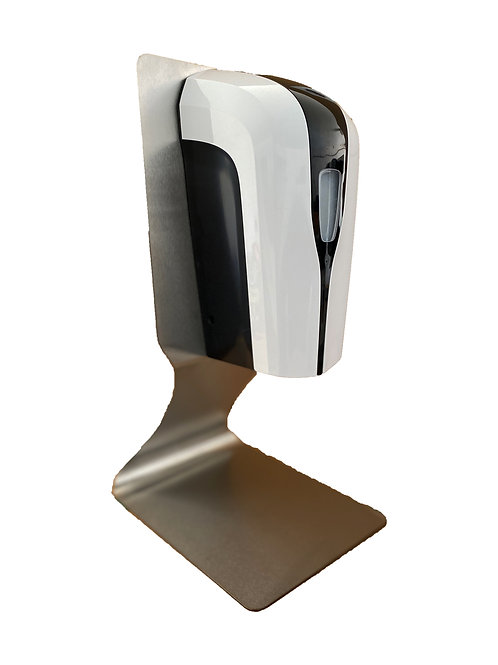 Stainless Handy-Stand Desktop with Touch free Dispenser