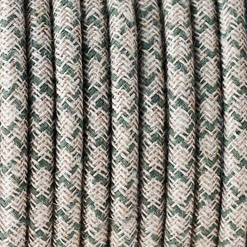 Цветной Ретро Провод - Натуральный Лен   Люстра Паук   Ретро Провод   Винтажный провод   Лампа Эдисона   Ретро Патрон   Лофт