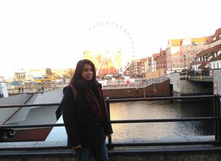 Cristina hace sus prácticas en Polonia