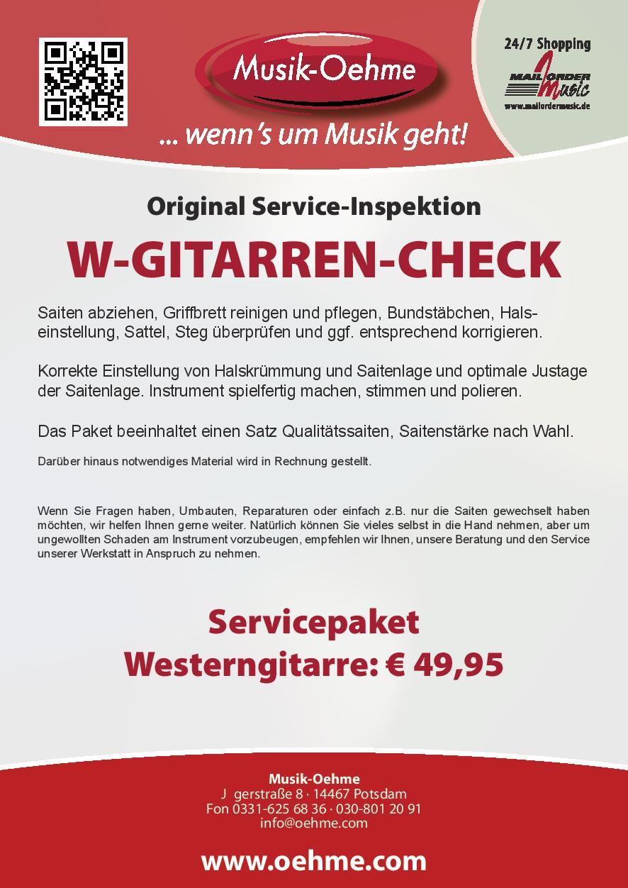 Westerngitarren-Check