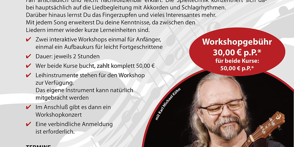 Ukulele Workshop mit Michael Köhn