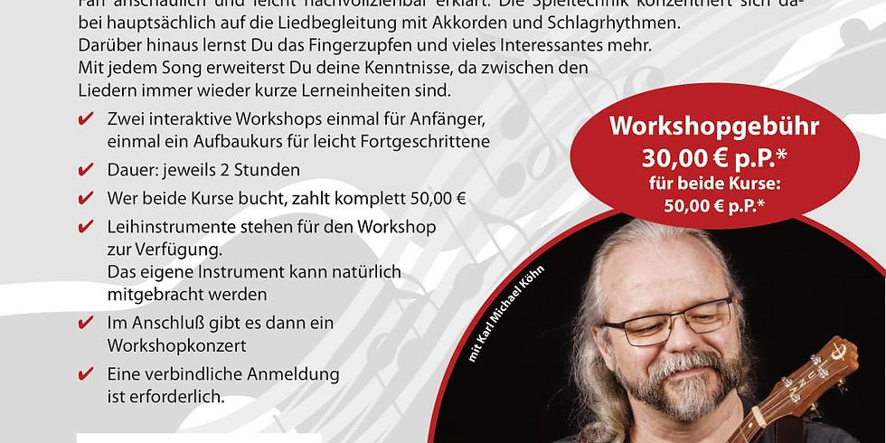 Ukulele-Workshop mit Michael Köhn nach den Sommerferien :-)