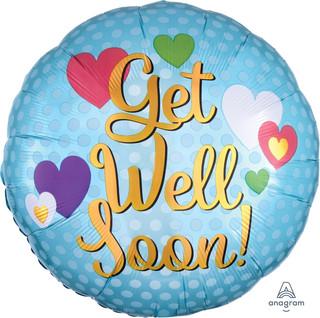 Get Well Soon Hearts