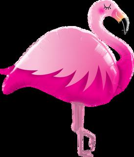 Pink Flamingo 117cm