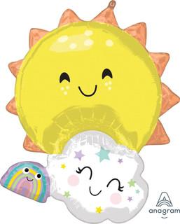 Happy Sunshine Cloud and Rainbow SuperSh