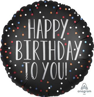 Happy Birthday To You Black