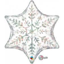 Holographic Snowflake 56cm