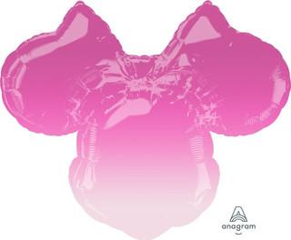 Ombre Minnie Mouse 68cm wide