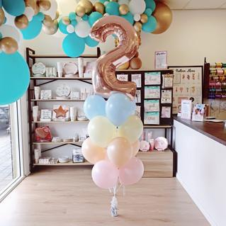 Bluey Colour Balloon Bouquet