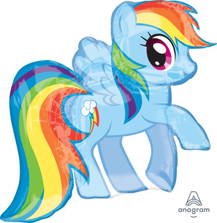 My Little Pony Rainbow Dash 71x68cm
