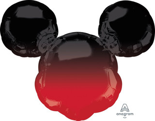 Ombre Mickey Mouse 68cm wide