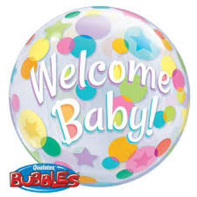 Welcome Baby Bubble