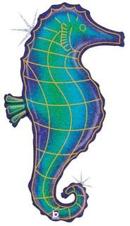 Glitter Seahorse 91cm