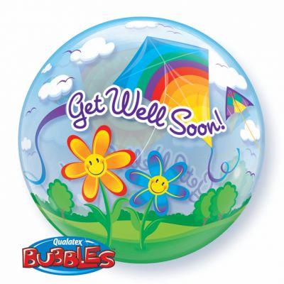 Get well soon bubble