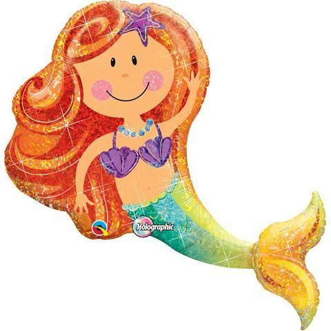 Holographic Mermaid 111cm