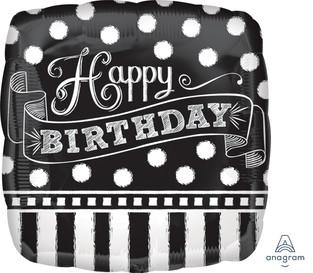 Chalk Board Happy Birthday