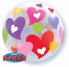 Hearts Bubble