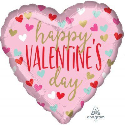 45cm Fun Hearts Happy Valentine's Day