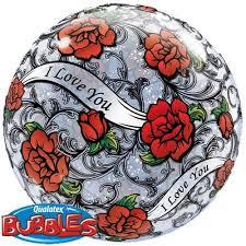 Love Roses Bubble