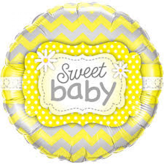 Sweet Baby Yellow and Grey