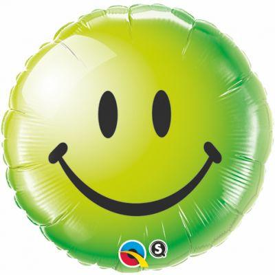 Green Smiley Face