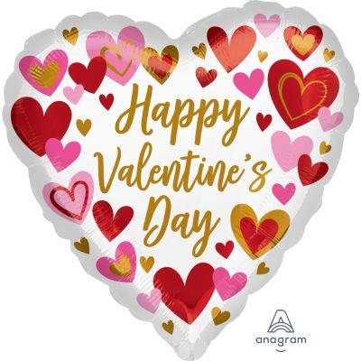 45cm Playful Valentine's Day Hearts