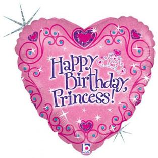 Happy Birthday Princess Heart
