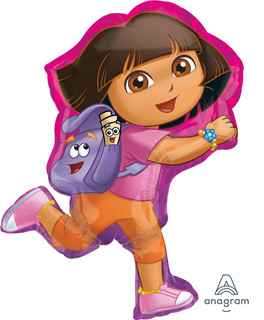 Dora off exploring 53x81cm