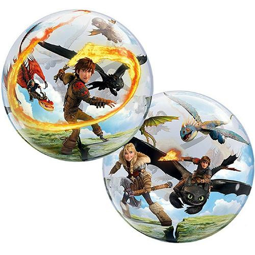 How to Train your Dragon Bubble