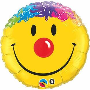 Smiley Face Rainbow Hair