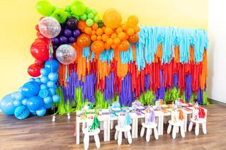 Colourful Balloon Garland