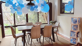 Baby Blues Garland and Balloon Boxes