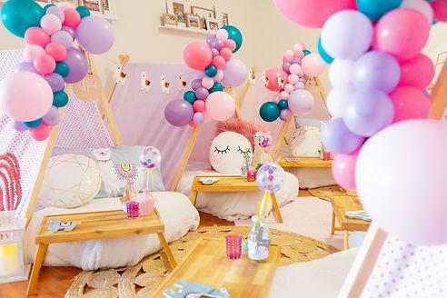 Llama Party Balloons
