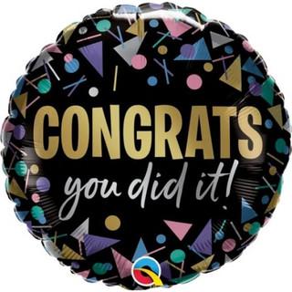 Congrats You Did It Metallic
