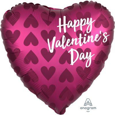 45cm Pink Happy Valentine's Day