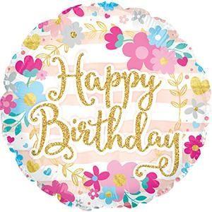 Happy Birthday Glitter