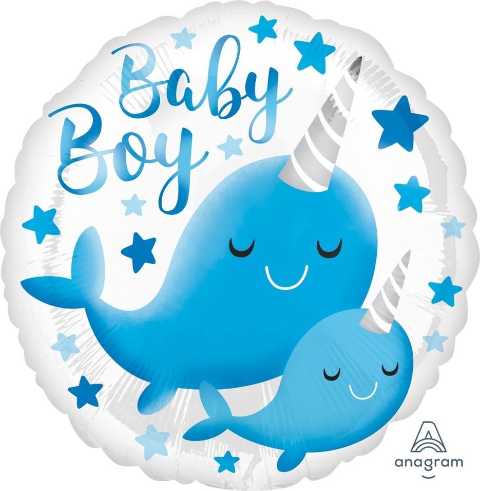Baby Boy Narwal